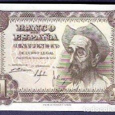 Billetes españoles: 1 PESETA 1951 DEL QUIJOTE, SIN CIRCULAR/PLANCHA. Lote 126112015