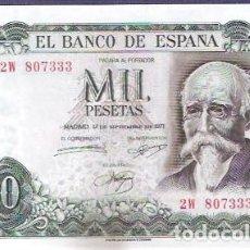 Billetes españoles: 1000 PTS 1971 SIN CIRCULAR/PLANCHA. Lote 126113179