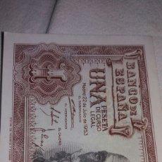 Billetes españoles: UNA PESETA DEL 22 DE JULIO DE 1953. Lote 126688454