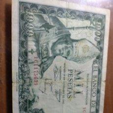 Billetes españoles: BILLETE 1000 PESETAS 1965 SAN ISIDORO. Lote 126767795