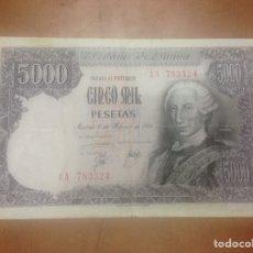 Billetes españoles: C.R. 5000 PESETAS. MADRID 1976. SERIE 1A. MBC. Lote 127114580