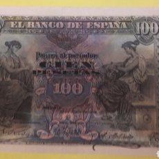 Billetes españoles: ESPAÑA 1906 100 PTAS SERIE C. Lote 127231515