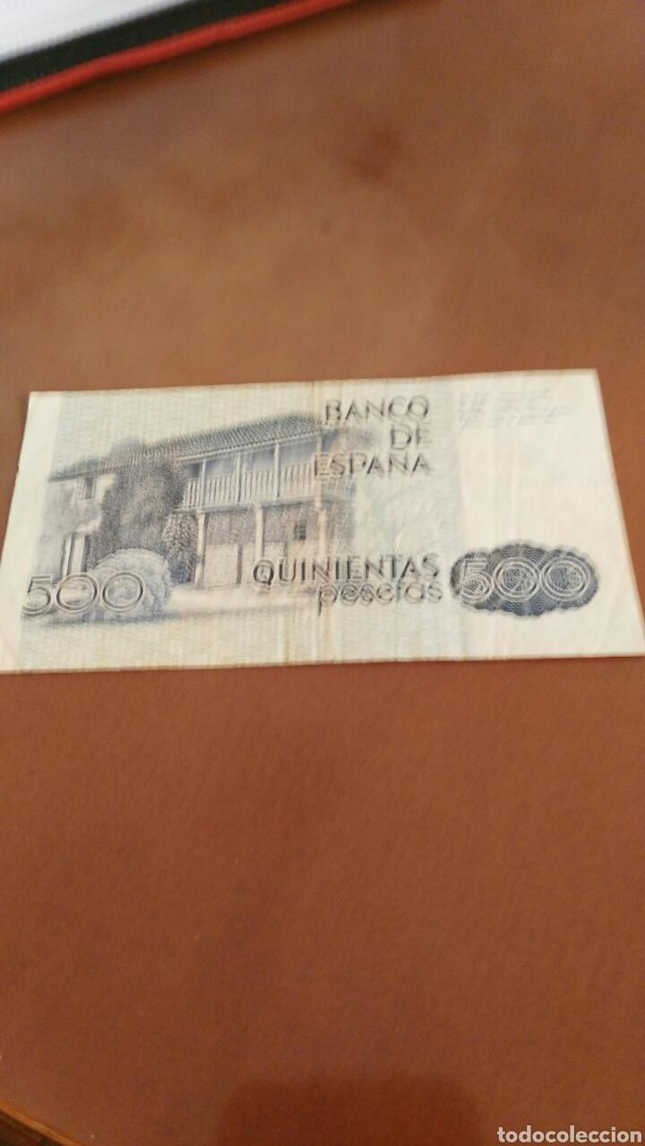 Billetes españoles: Billete 500 pesetas - Foto 2 - 127581898