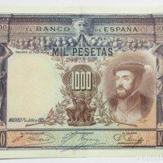 Billetes españoles: BILLETE DE 1000 PESETAS DE 1 DE JULIO DE 1925. MADRID. SIN LETRA DE SERIE. LOTE 0776. Lote 127904775