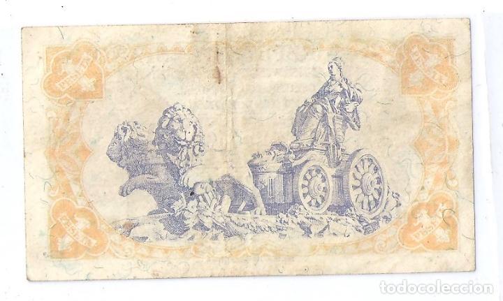 Billetes españoles: BONITO BILLETE DE 1 PTA DE LA 2ª REPUBLICA AÑO 1937 DE LA SERIE C MUY RARA - Foto 2 - 130360886