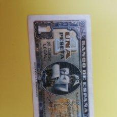 Billetes españoles: BILLETE 1 PESETA 4 DE SEPTIEMBRE DE 1940. Lote 130898691