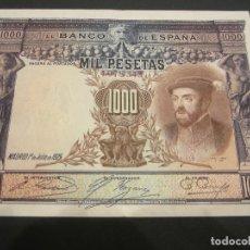 Billetes españoles: 1000 PESETAS DE 1925 SIN SERIE-343. Lote 132122450