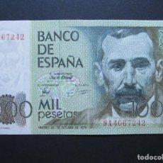 Banconote spagnole: 1000 PESETAS DE 1979 SERIE 9A-242 SC- RARO. Lote 132328774