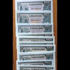Billetes españoles: 2 PESETAS DE OCTUBRE DE 1937 REF 674. Lote 133172761