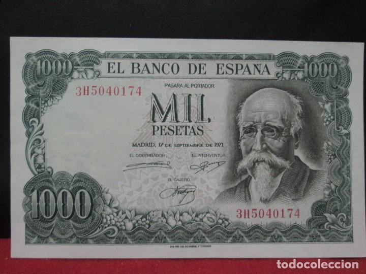 1000 PESETAS 17 SEPTIEMBRE 1971 SIN CIRCULAR (Numismática - Notafilia - Billetes Españoles)
