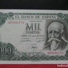 Billetes españoles: 1000 PESETAS 17 SEPTIEMBRE 1971 SIN CIRCULAR. Lote 132890598