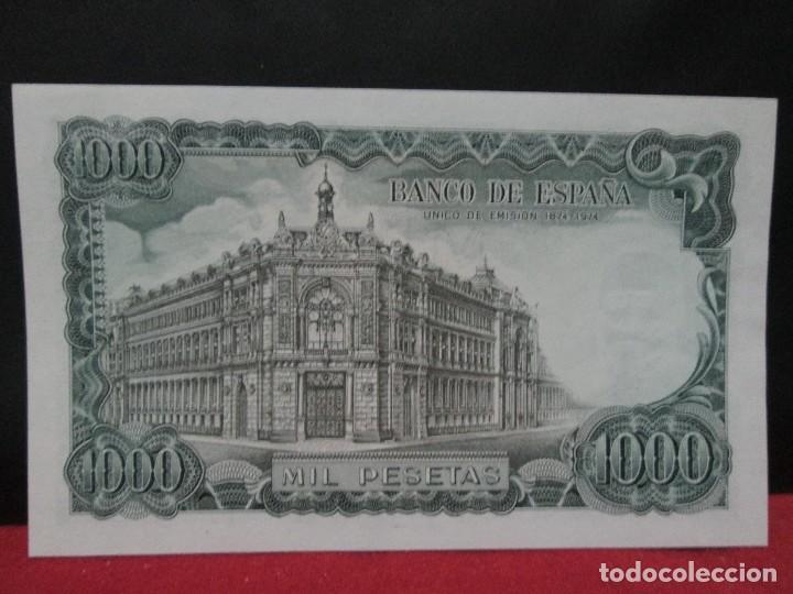 Billetes españoles: 1000 pesetas 17 septiembre 1971 sin circular - Foto 2 - 132890598