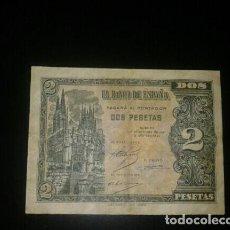 Billetes españoles: 2 PESETAS OCRUBRE DE 1937. Lote 132975938