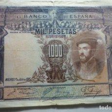 Billetes españoles: BILLETE BANCO ESPAÑA 1000 PTS-JULIO 1925. Lote 133065158