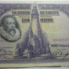 Billetes españoles: BILLETE BANCO ESPAÑA 100 PTS.. Lote 133065426