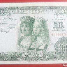 Billetes españoles: BILLETE ESPAÑA 1000 MIL PESETAS 1957 T9340329 BUENA CONSERVACION. Lote 133674018