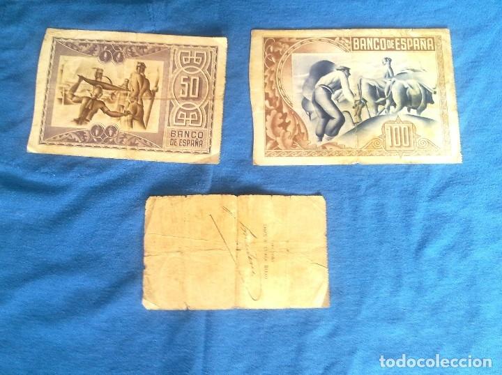 Billetes españoles: LOTE 3 BILLETES DE BILBAO. - Foto 2 - 133997786