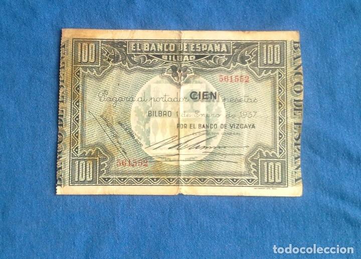 Billetes españoles: LOTE 3 BILLETES DE BILBAO. - Foto 5 - 133997786