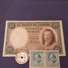 Billetes españoles: LOTE REPÚBLICA. 1931-1934-1936. LEER DESCRIPCIÓN. Lote 134057330