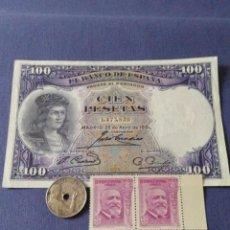 Billetes españoles: LOTE II REPÚBLICA. 1931-1934-1936. LEER DESCRIPCIÓN. Lote 134057346