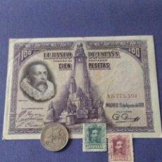 Billetes españoles: LOTE ALFONSO XIII. 1922-1925-1928. LEER DESCRIPCIÓN. Lote 134057366
