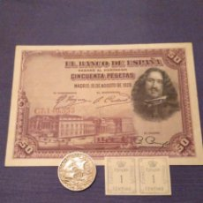 Billetes españoles: LOTE ALFONSO XIII. 1920-1925-1928. LEER DESCRIPCIÓN. Lote 134057462