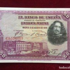 Billetes españoles: 50 PESETAS 1928 EBC/XF. Lote 134405142