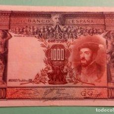 Billetes españoles: 1000 PESETAS 1925 (MBC+). Lote 135052334