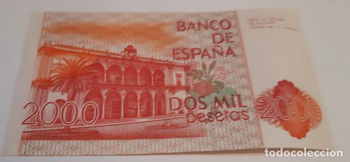 Billetes españoles: DOS MIL PESETAS BILLETE SIN SERIE - Foto 2 - 135721911