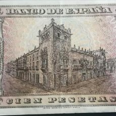 Billetes españoles: BILLETE BURGOS 100 PESETAS 1938. Lote 135954922