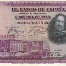 Billetes españoles: BILLETE DE 50 PESETAS. Lote 137441990