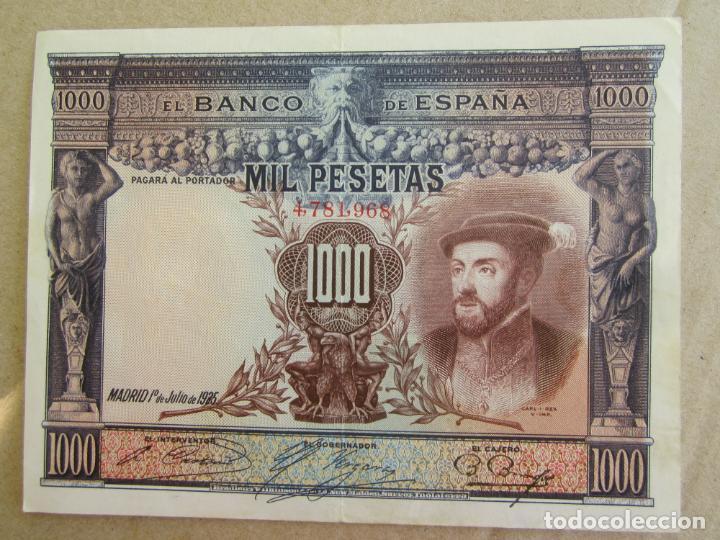 1000 , MIL PESETAS , JULIO 1925 (Numismática - Notafilia - Billetes Españoles)