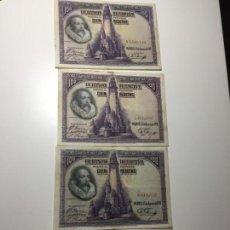 Billetes españoles: 4 BILLETES 100 PESETAS 1928. Lote 138968162