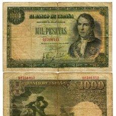 Billetes españoles: 1000 PESETAS 1949. Lote 139595734