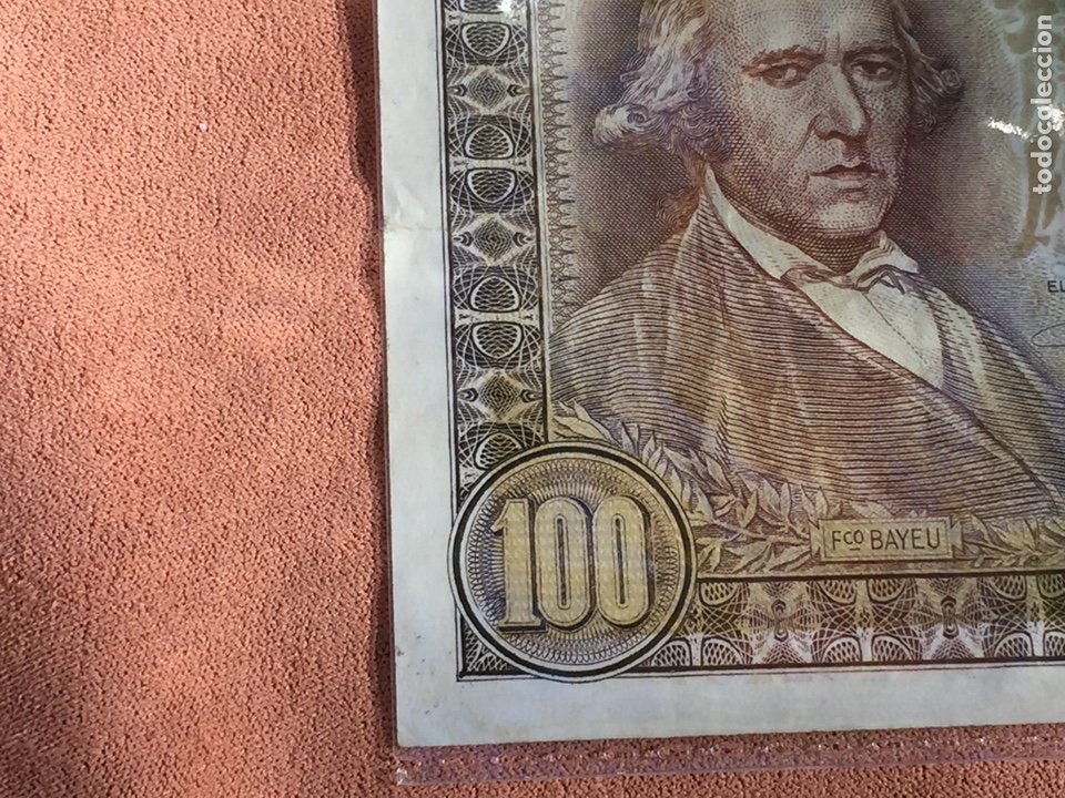 Billetes españoles: Billete 100 pesetas 1948 Bayeu MBC- Envío Gratis - Foto 7 - 139606114