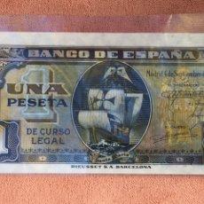 Billetes españoles: BILLETE 1 PESETA 1940 SIN CIRCULAR ENVÍO GRATIS. Lote 139606793