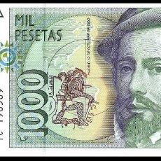 Billetes españoles: 1000 PESETAS 1992 SIN CIRCULAR/PLANCHA. Lote 140462862