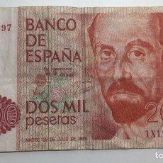 Billetes españoles: BILLETE 2000 PESETAS. Lote 140501981