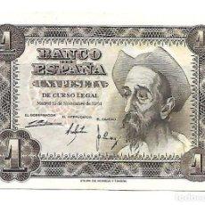 Billetes españoles: 1 PESETA 1951 EBC+. Lote 140524538