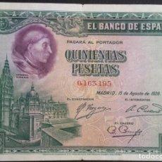 Billetes españoles: ESPAÑA BILLETE 500 PTAS 1928. Lote 194590083
