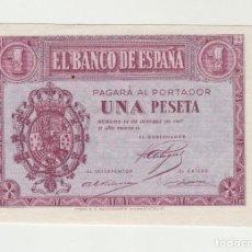 Billetes españoles: 1 PESETA- 12 DE OCTUBRE DE 1937. Lote 141439274