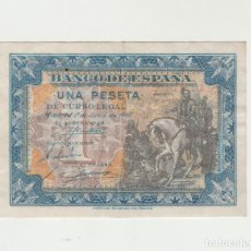 Billetes españoles: 1 PESETA- 1 DE JUNIO DE 1940. Lote 141439402