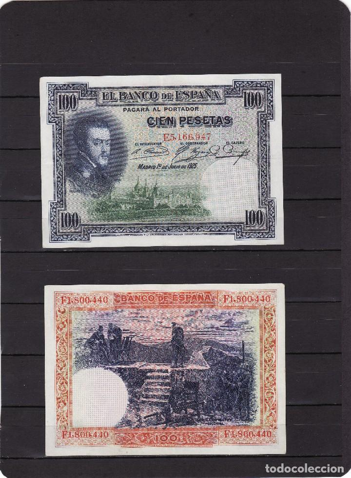 ESPAÑA :100 PESETAS 1925..( FELIPE LL ) MBC.VF.PK.69 (Numismática - Notafilia - Billetes Españoles)
