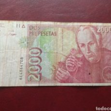 Billetes españoles: 2000 PESETAS. Lote 143127965