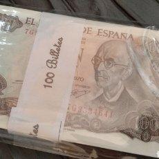 Billetes españoles: 100 BILLETES 100 PESETAS 1970 MANUEL DE FALLA. Lote 144363018