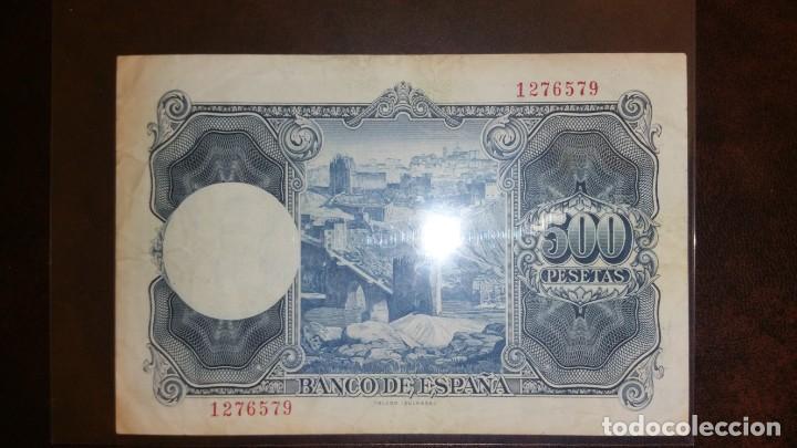 Billetes españoles: Billete 500 pesetas 1954 SIN SERIE - Foto 2 - 145283362