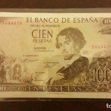 Billetes españoles: 100 PESETAS DE 1965 SIN SERIE. Lote 145620442