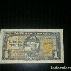 Billetes españoles: BILLETE 1 PESETA 4 SEPTIEMBRE DE 1940. Lote 145739050