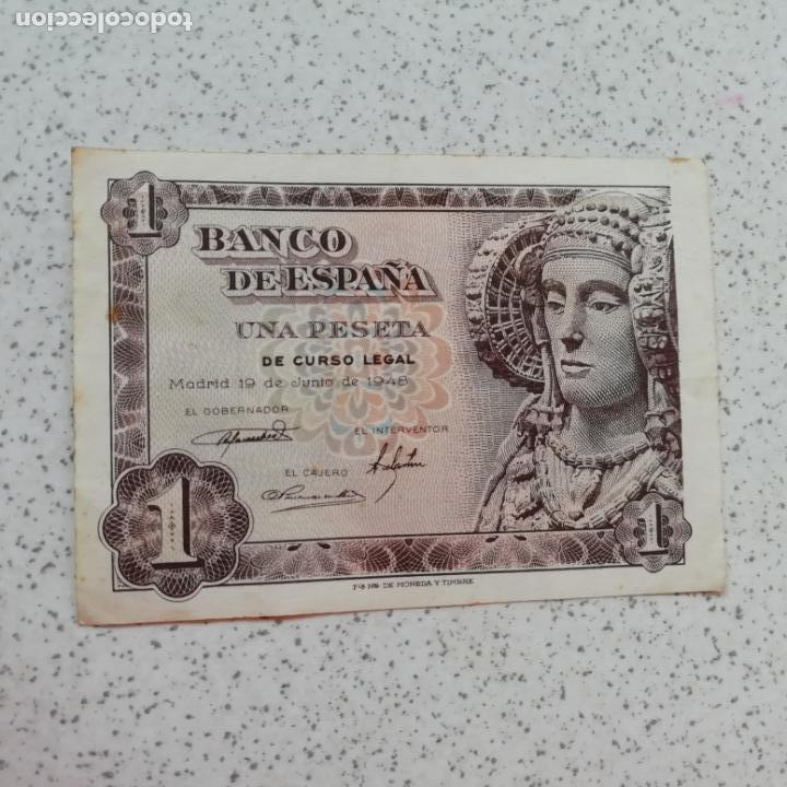 PESETA DE 1948. SIN CIRCULAR. SERIE M (Numismática - Notafilia - Billetes Españoles)