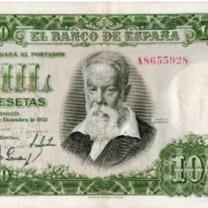 Billetes españoles: BILLETE ESPAÑOL 1000 PESETAS EBC- SERIE A - JOAQUÍN SOROLLA MADRID 31 DICIEMBRE 1951. Lote 145777098